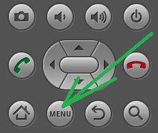 android menu button