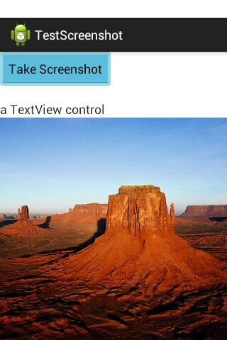 Taking a screenshot of current Activity in Android – Android