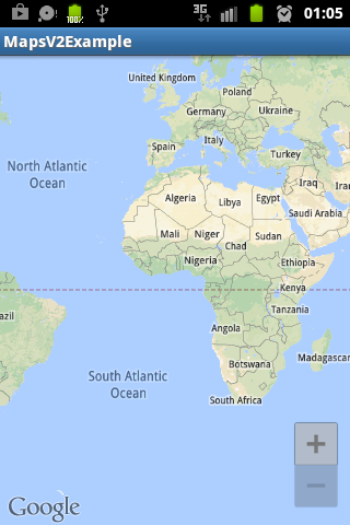 Android Google Maps API V2